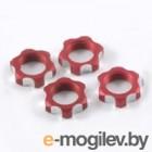 Гайки колес 1/8 - V2 Wheels Nuts 1.00mm Thread - Red (4шт).
