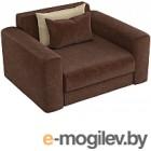 Кресло Mebelico Мэдисон 14 / 59184 (микровельвет, коричневый)
