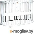 Детская кровать-трансформер Bambini М.01.10.14 (белый)