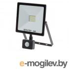 Прожектор светодиодный с датч. движ. 30 Вт 6500K IP64 ЮПИТЕР (2600 лм, холодный белый свет)