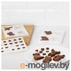 БАКГЛАД Формочки для шоколада, различные формы 603.634.27