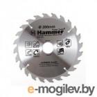 Диск пильный Хаммер Флекс 205-124 CSB WD  200мм*24*32/30мм по дереву