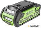 Аккумулятор GREENWORKS G40B2 (29717)  40в g-max40 2Ач время зарядки 40мин