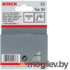 Скобы для степлера BOSCH 1609200366  1000шт. 10мм тип53