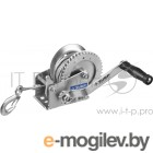Лебедка механическая ЗУБР ПРОФЕССИОНАЛ 43113-0.5_z01  ручная барабанная тяговая тросовая 0.5т 8м