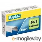 Скобы Rapid [24861300] Strong 26/6 1000 шт