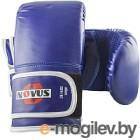 Перчатки для единоборств Novus LTB-16302 (S, синий)