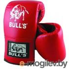Перчатки для единоборств Bulls BTB-17001 (XL, красный)