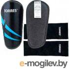 Щитки футбольные Torres Pro FS1608 (L, черный/синий/белый)