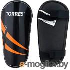 Щитки футбольные Torres Club FS1607 (M, черный/оранжевый/белый)