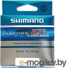 Леска флюорокарбоновая Shimano Aspire Fluo Ice 0.105мм зимняя / ASFLRI3010 (30м)