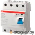 Устройство защитного отключения ABB F204 4P 80A 30mA 6kА 4М / 2CSF204001R1800