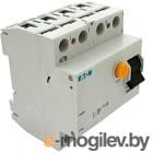 Устройство защитного отключения Eaton PF6 4P 25A 100мА 4M / 286505