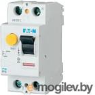 Устройство защитного отключения Eaton PF6 2P 25A 100мА 2М / 286493