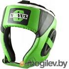 Боксерский шлем Novus LTB-16321 (L, зеленый)