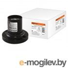Патрон карболитовый потолочный, Е27, черный, прямой, TDM (Применение  Для промышленного и бытового применения.)