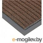 Грязезащитный коврик Kovroff Стандарт ребристый 50x80 / 20203 (коричневый)