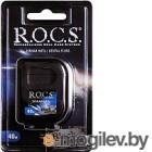 Зубная нить R.O.C.S. Black Edition расширяющаяся (40м)