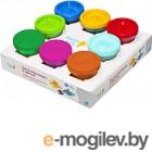 Набор для лепки Genio Kids Тесто-пластилин / TA1045 (8 цветов)