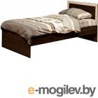 Односпальная кровать Олмеко 21.55 (венге/дуб линдберг)