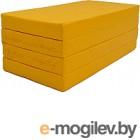 Гимнастический мат KMS sport Складной №5 1x2x0.1м (желтый)