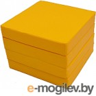 Гимнастический мат KMS sport Складной №11 1x1x0.1м (желтый)