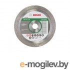 Алмазный круг 76х10 мм по керамике сплошн. BEST FOR CERAMIC BOSCH (для GWS 12-76 V-EC)