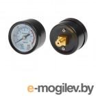 Манометр для компрессора ЕСО, резьба 1/8 (Резьба - 1/8, металлический корпус, Давление - 0-10 бар) (ECO)