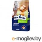 Корм для собак сухой 2 кг Small Breeds Клуб 4 Лапы (КЛУБ 4 ЛАПЫ)