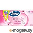 Туалетная бумага Zewa Deluxe Орхидея (1х8рул)