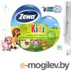 Влажная туалетная бумага Zewa Kids (42л)