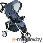 Детская прогулочная коляска Xo-kid Steam (темно-синий)