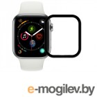 Защитное стекло Zibelino TG 3D для APPLE Watch 4 44mm Black ZTG-3D-APL-W44-BLK