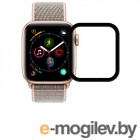 Защитное стекло Zibelino TG 3D для APPLE Watch 4 40mm Black ZTG-3D-APL-W40-BLK