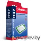 Фильтр Topperr FEX 2 Electrolux Philips Zanussi Aeg EF17 FC8030 1164