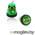 Лизун Slime Ninja 130гр светится в темноте Green S130-18