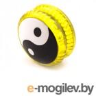Эврика Волчок на шнуре Инь Янь Yellow 99058