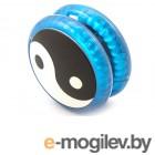 Эврика Волчок на шнуре Инь Янь Blue 99057