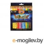 Карандаши с многоцветным грифелем Koh-i-Noor Magic Набор 13шт 3408013001KS