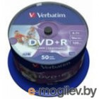 DVD-R 4.7Gb Verbatim 16x по 50шт