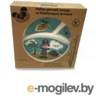 Набор посуды Eco Baby Пираты Light Blue 500134