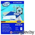 Этикетки Europe100 ELA019-100 ELA019 A4 105x37мм 16шт на листе/70г/м2/100л./белый матовое самоклей. универсальная