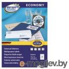 Этикетки Europe100 ELA13-100 ELA013 A4 70x42.3мм 21шт на листе/70г/м2/100л./белый матовое самоклей. универсальная