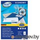 Этикетки Europe100 ELA049-18 A4 52.5x29.7мм 40шт на листе/70г/м2/18л./белый матовое самоклей. универсальная