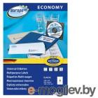 Этикетки Europe100 ELA036-100 ELA036 A4 105x70мм 8шт на листе/70г/м2/100л./белый матовое самоклей. универсальная