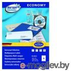 Этикетки Europe100 ELA022-100 ELA022 A4 105x57мм 10шт на листе/70г/м2/100л./белый матовое самоклей. универсальная