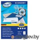 Этикетки Europe100 ELA021-18 A4 105x48мм 12шт на листе/70г/м2/18л./белый матовое самоклей. универсальная