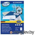Этикетки Europe100 ELA011-18 A4 70x37.1мм 24шт на листе/70г/м2/18л./белый матовое самоклей. универсальная