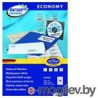 Этикетки Europe100 ELA002-100 ELA002 A4 48.5x25.4мм 40шт на листе/70г/м2/100л./белый матовое самоклей. универсальная