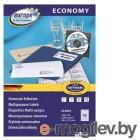 Этикетки Europe100 ELA001-100 ELA001 A4 38x21.2мм 65шт на листе/70г/м2/100л./белый матовое самоклей. универсальная